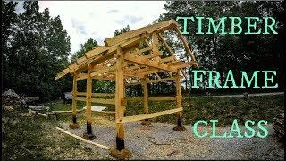 Timber frame class 2018