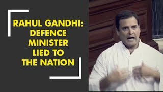 Video Rahul Gandhi: Defence Minister Nirmala Sitharaman lied to the nation download MP3, 3GP, MP4, WEBM, AVI, FLV Juli 2018