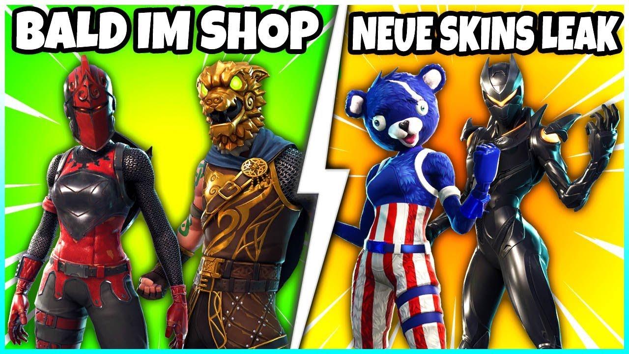 Rote Ritterin Und Schlachtenhund Bald Im Shop Alle Neuen Skins Vom Neuen Update Fortnite