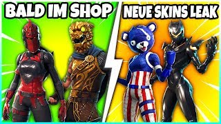 RED RITTERIN and SCHLACHTENHUND BALD in the SHOP? ❌ ALL new SKINS from the new UPDATE! - Fortnite