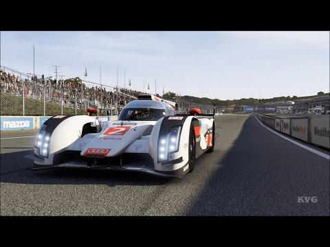 Forza Motorsport 6 - Audi #2 Team Joest R18 e-tron quattro 2014 - Test Drive Gameplay [1080p60FPS]