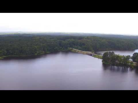 Lake Acworth Beach Drone Footage in Acworth, GA