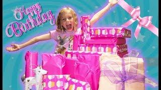 Lizzy's Birthday Present Opening Haul!!