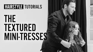 How to do textured mini-tresses? by My Sacha | L'Oréal Professionnel tutorials