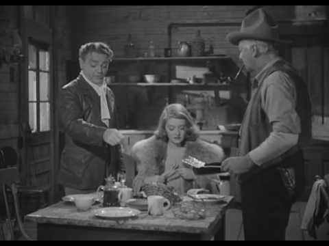 James Cagney  headbutting Bette Davis