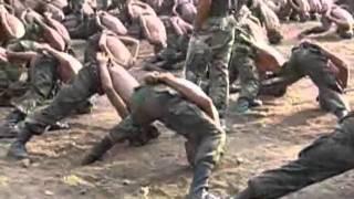 ฝึกทหารนาวิกโยธิน ผลัด 3 ปี 52. Thai Marines draftee.