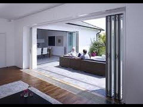 Harmonicadeur vergelijk met schuifpui en openslaande for Wohnzimmer 4 x 8