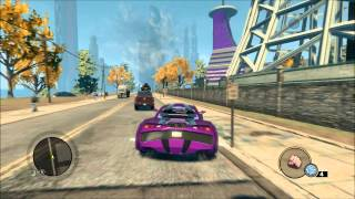 Saints Row The Third All My cars, helicopters, boats and planes!(part 1)