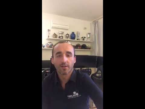 Robert Kubica lipiec 2017 LiveChat by Olimp Sport Nutrition Cz. I