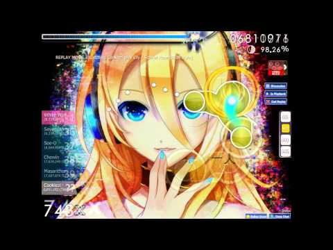 Osu! Lily - Scarlet Rose played by Cookiezi with hrhd