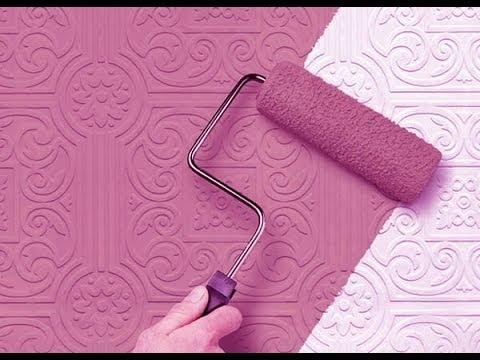 Возрождение ванной комнаты  Стеклообои на стенах