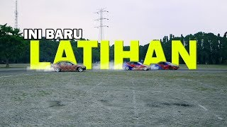 CRASH di Latihan drifting feat Alinka & Aziz 77