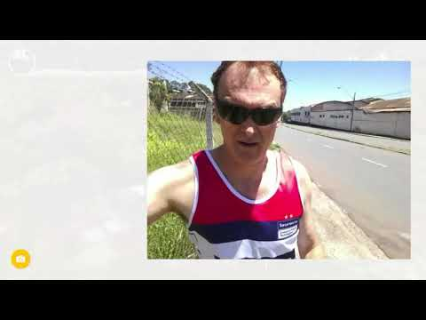 Trotinho corrida 5km soltar músculos hj 12/11/17