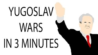 Repeat youtube video Yugoslav Wars | 3 Minute History