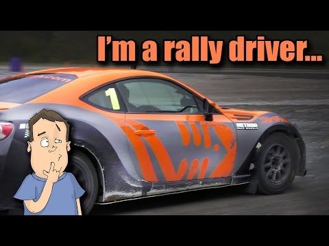Learning how to drive RWD rally cars at DirtFish Rally School