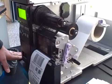 Video Demo: SATO GL408e Desktop Bar Code Printer