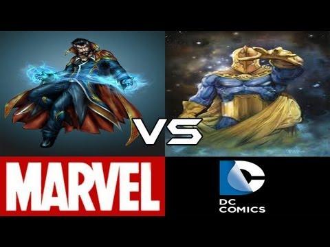 Doctor Strange VS Doctor Fate (CBVS#16)