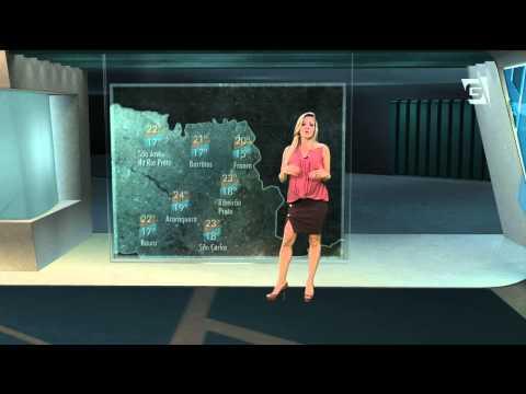 Previsão do Tempo  – 11/09/2015