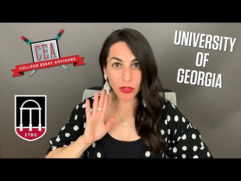 How To Write Fantastic Application Essays For The University Of Georgia