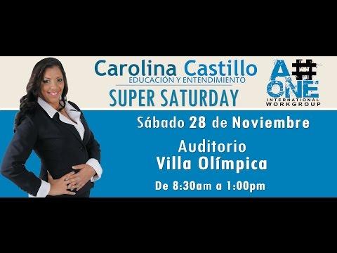 A#ONE: Historia - Carolina Castillo