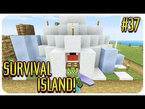 ✅MINECRAFT - SURVIVAL ISLAND - UNDERWATER PASSAGE! Episode 37