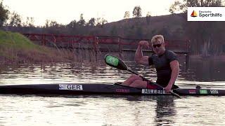 Was für eine Maschine: Kanu-Rennsportler Finn Eidam - #kannnichtjeder