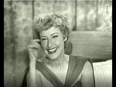 PERSON TO PERSON, 1958: Jeanette MacDonald & Gene Raymond