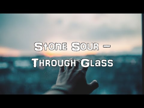 Stone Sour - Through Glass [Acoustic Cover.Lyrics.Karaoke]