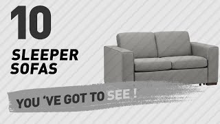 Top 10 Sleeper Sofas // New & Popular 2017