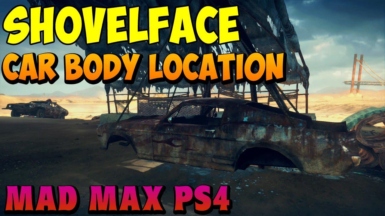 Mad Max Shovelface Car Body Location Fragtheplanet