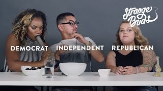 A Republican, Democrat, and Independent Smoke Weed Together | Strange Buds | Cut thumbnail
