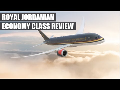 Royal Jordanian Economy Class Flight Review - Doha to Amman