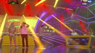 Alejandra Baigorria  y Pancho Rodríguez derrochan sensualidad en la pista de baile