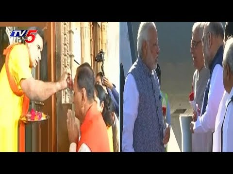 Gujarat CM Vijay Rupani Offer Prayers at Ranchhodrai Temple in Dakor | TV5 News