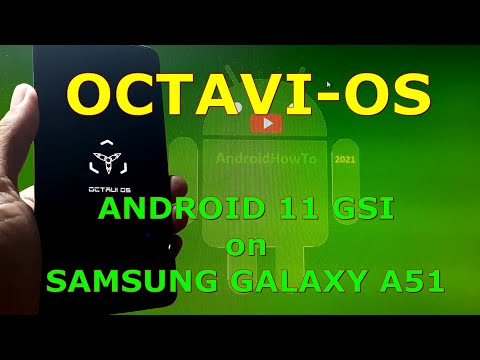 Octavi-OS Android 11 for Samsung Galaxy A51