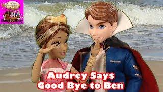 Vampire Audrey Says Good Bye to Vampire Ben - Part 22- Vampires Moana Descendants Disney