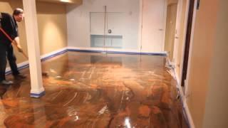 Know more about Designer Metallic Epoxy Floor Installation