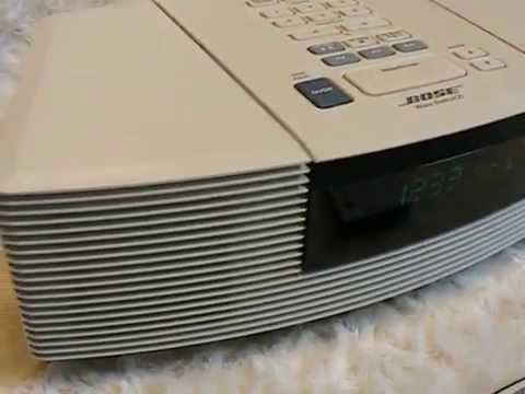 bose wave radio and cd player avi youtube. Black Bedroom Furniture Sets. Home Design Ideas