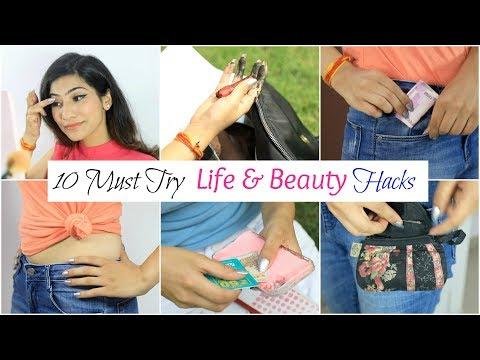 10 MUST Try LIFE & BEAUTY Hacks - College & School Girls | Anaysa