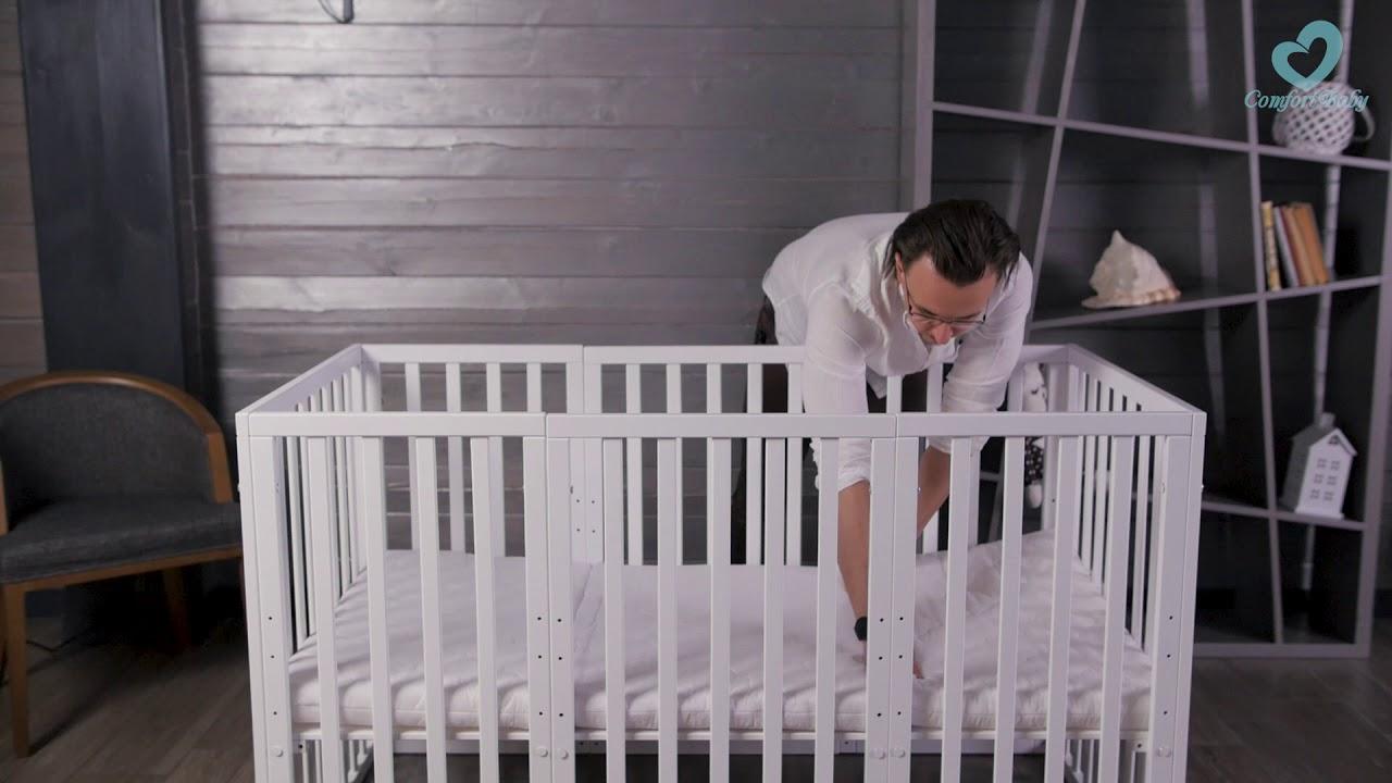 Comfortbaby childhoodbuddy in aufbau großes babybett großes