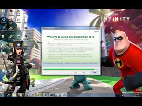 Install and Crack QUICKBOOK POS 2013
