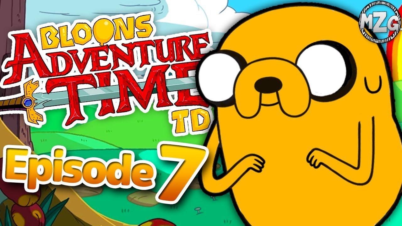 Bloons Adventure Time Td Gameplay Walkthrough Episode 7