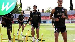 Atletico Madrid Train As They Look To Seal La Liga Title   Real Valladolid CF Vs Atlético Madrid