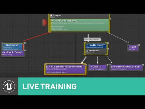 Behaviour Trees | Live Training | Unreal Engine