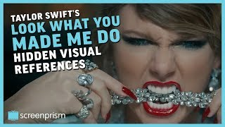 "Hidden Visual References in Taylor Swift's ""Look What You Made Me Do"""