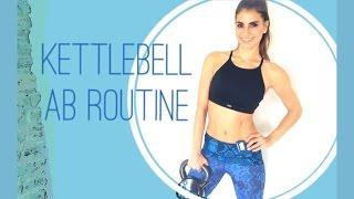 Kettlebell Ab Routine