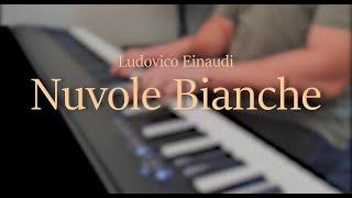 Nuvole Bianche - Ludovico Einaudi // Piano Cover (1 Year Piano progress) видео