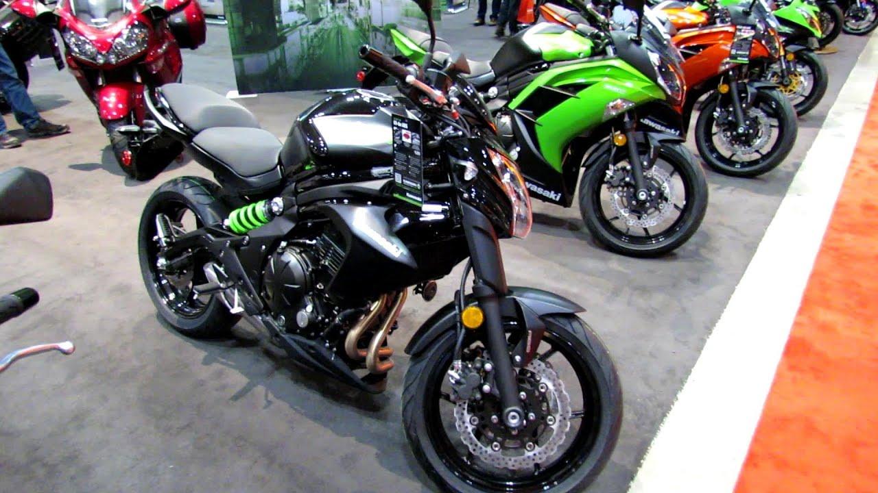 2014 Kawasaki Er 6n Abs Walkaround 2014 Toronto Motorcyle Show