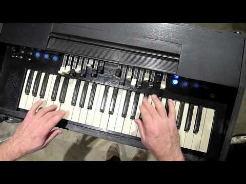 A O  44 (Prototype midi controller made of reused Hammond keyboard) -  Thollem Electric