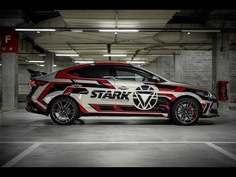 Iron Man Design On Hyundai Elantra - Garage Lab